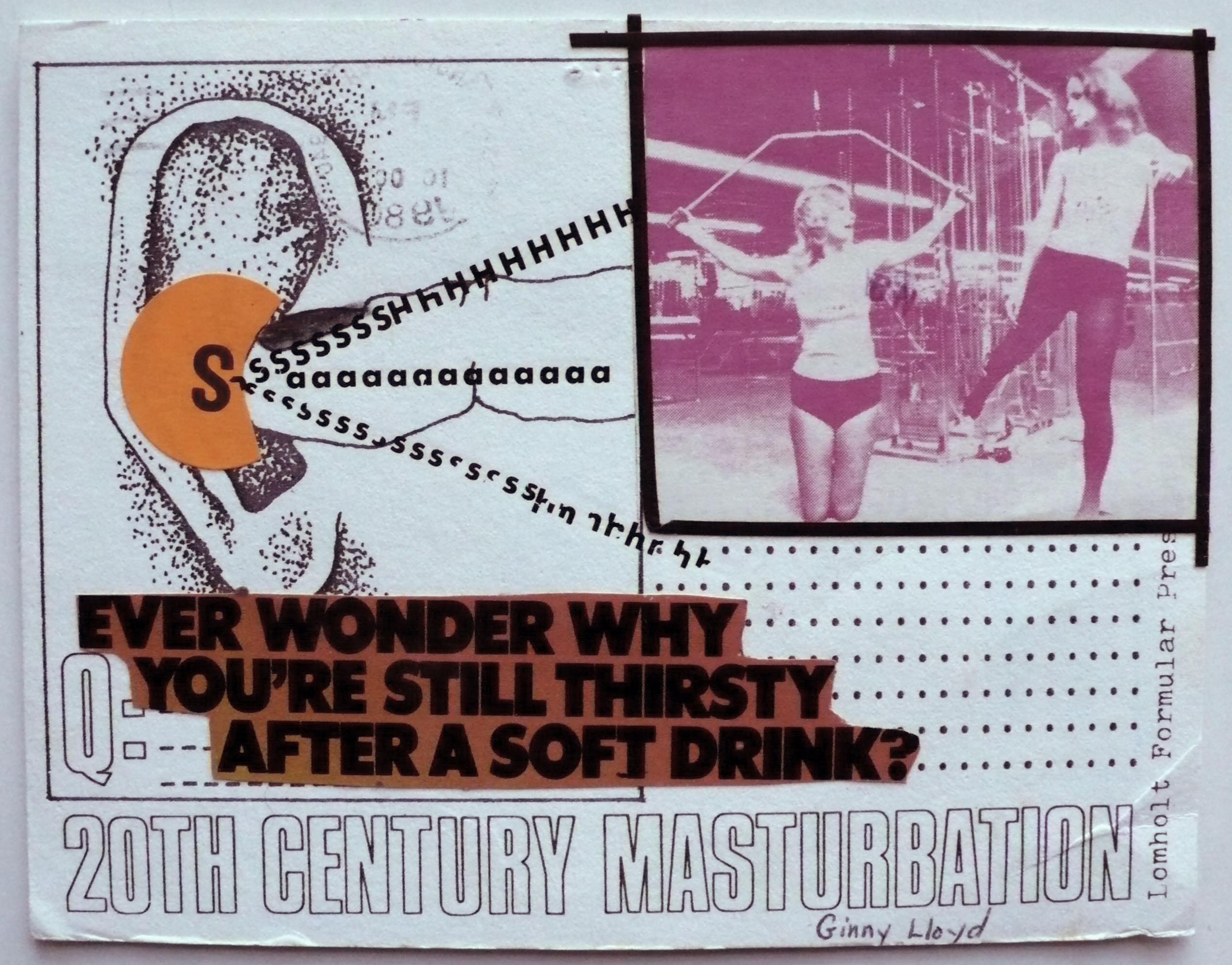 Masturbation in 20th century art